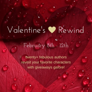 """a red heart with the words """"Valentines Rewind"""""""